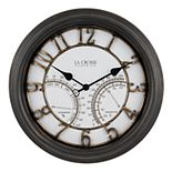 La Crosse Technology 19.7-Inch Indoor/Outdoor Courtyard Quartz Wall Clock