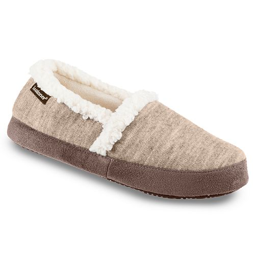 Women's Isotoner Heather Knit Marisol Closed Back Slippers
