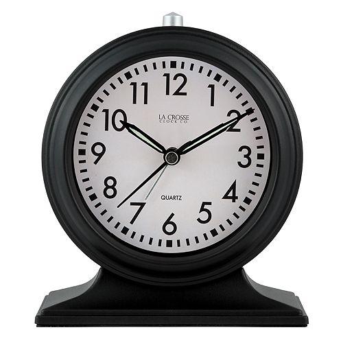 La Crosse Technology Silent Sweep Mantel Alarm Clock