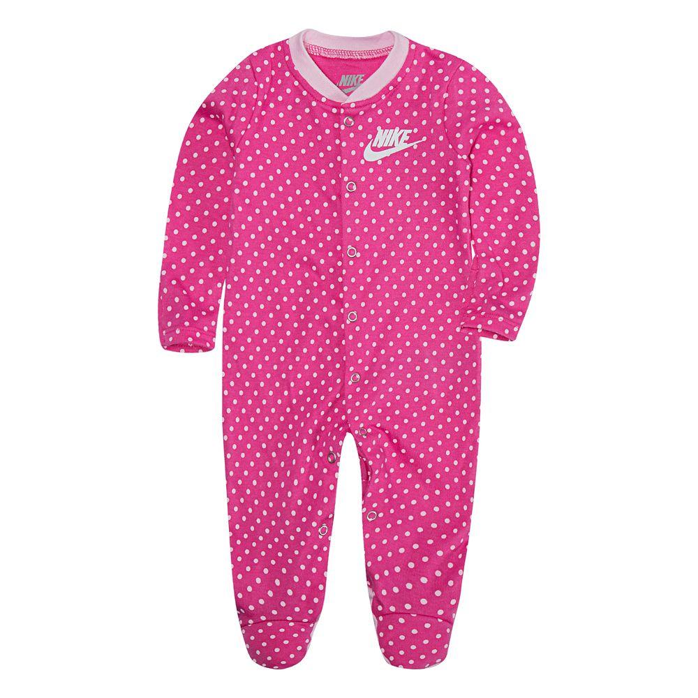 Baby Nike Polka Dots Pink Sleep & Play