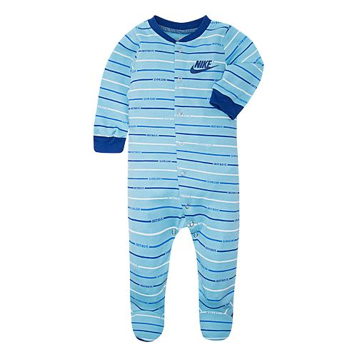 Baby Nike Stripe Print Sleep & Play
