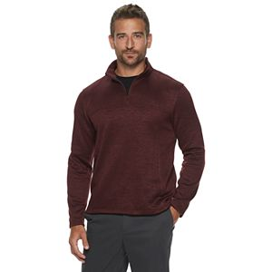 Men's Apt. 9 1/4 Zip Sweater Fleece