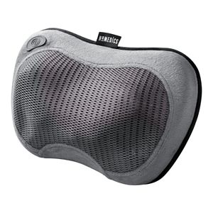 HoMedics Cordless Shiatsu Massage Pillow with Soothing Heat