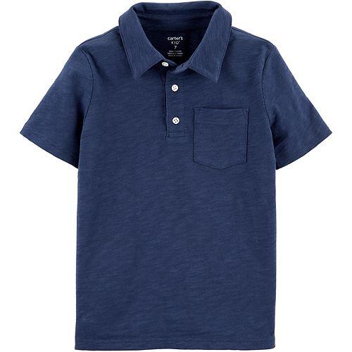Boys' 4-14 Carter's Slub Jersey Polo