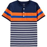 Boys' 4-14 Carter's Striped Jersey Henley