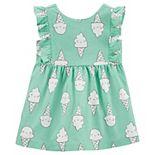 Baby Girl Carter's Ice Cream Cone Dress