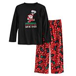 Boys 8-20 Jammies For Your Families Christmas Game Over Top & Bottoms Pajama Set