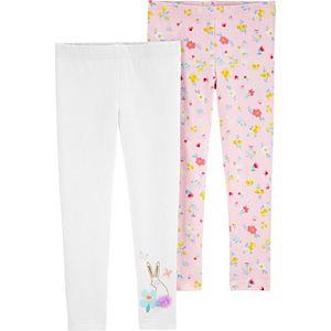 Toddler Girl Carter's 2-Pack Floral Leggings