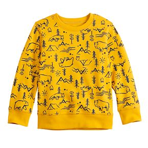 Toddler Boy Jumping Beans® French Terry Crewneck