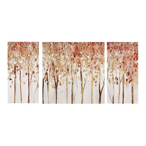 Madison Park Autumn Forest Canvas Wall Decor 3-piece Set
