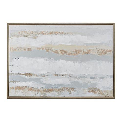 Madison Park Strato Foil Framed Canvas Wall Decor