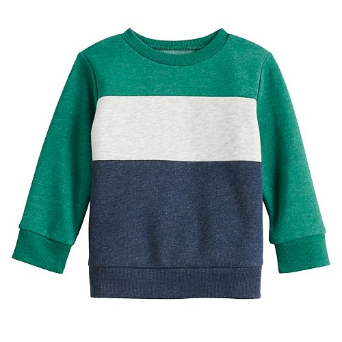 Baby Boy Jumping Beans® Colorblocked Long Sleeve Top