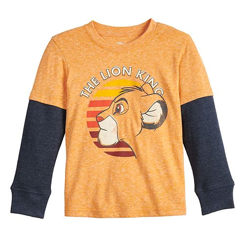Disney's The Lion King Toddler Boy Jersey Thermal Skater Tee by Jumping Beans®