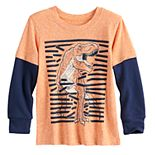 Toddler Boy Jumping Beans® Various Creature Layered Sleeve Tee