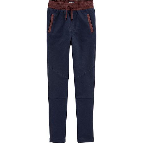Boys 4-14 Oshkosh B'gosh® French Terry Active Pants