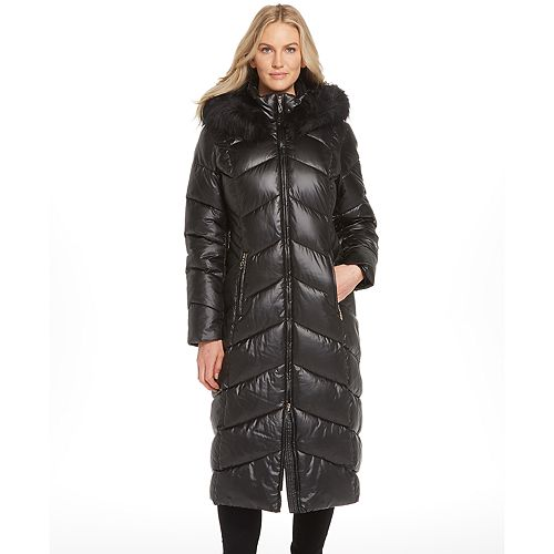 Women's Gallery Quilted Long Heavyweight Coat