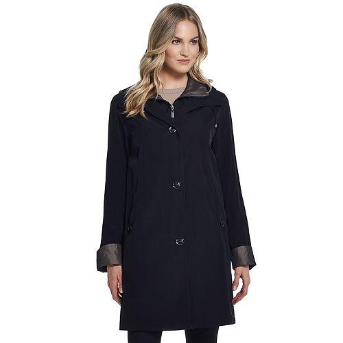 Women's Gallery Hooded Midweight Rain Jacket