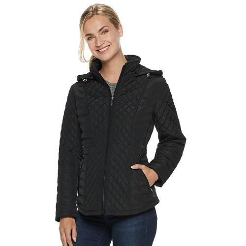 Women's Gallery Hooded Quilted Midweight Jacket
