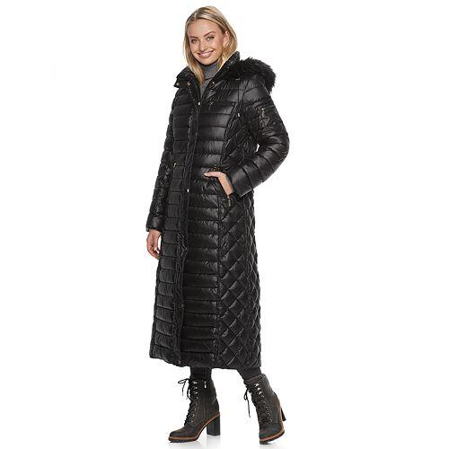 Women's Gallery Hooded Heavyweight Maxi Coat