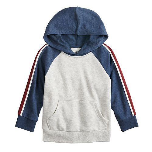 Toddler Boy Jumping Beans® Taped Raglan Hoodie Fleece