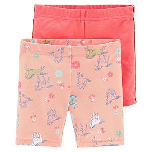 Toddler Girl Carter's 2-Pack Playground Shorts