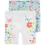Toddler Girl Carter's 2-Pack Playground Shorts