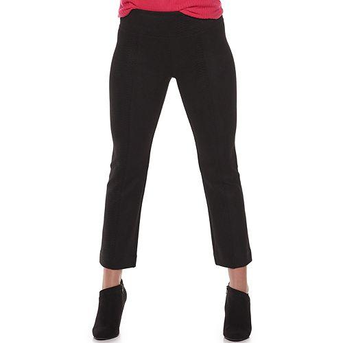 Juniors' Mudd® Pull-On Flare-Leg Capri Pants