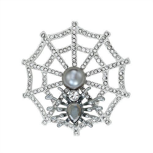 Napier Spider Web Pin
