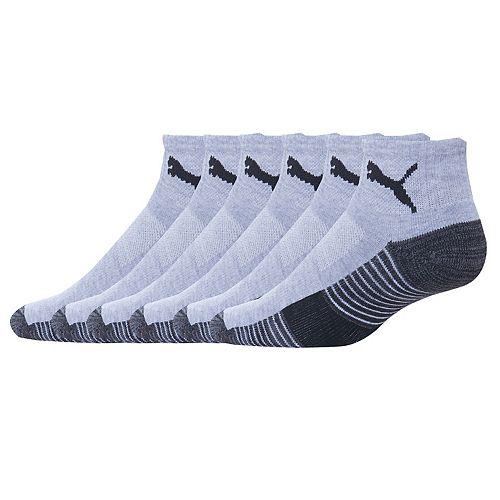 Men's PUMA 6-pack Quarter Socks