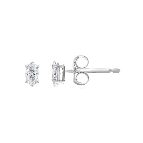 14K Gold 1/4 Carat T.W. IGI-Certified Diamond Stud Earrings