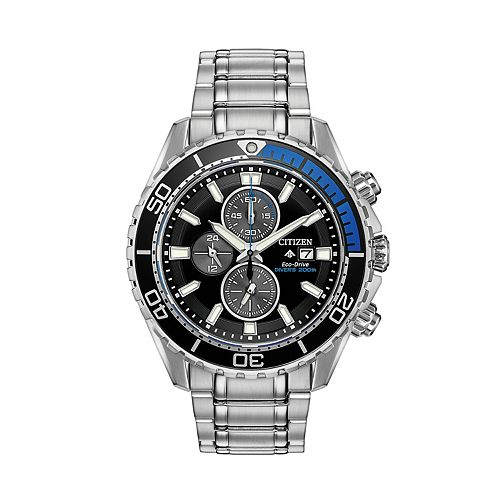 Citizen Eco-Drive Men's Promaster Stainless Steel Bracelet Dive Watch