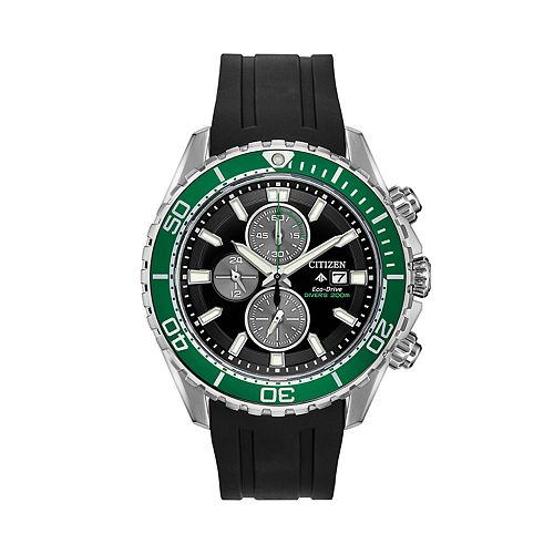 Citizen Eco-Drive Men's Promaster Black Strap Dive Watch
