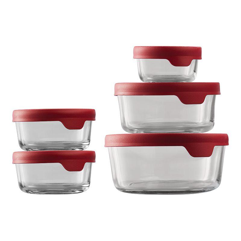 Anchor Hocking TrueSeal 10-pc. Round Food Storage Set, 10PC