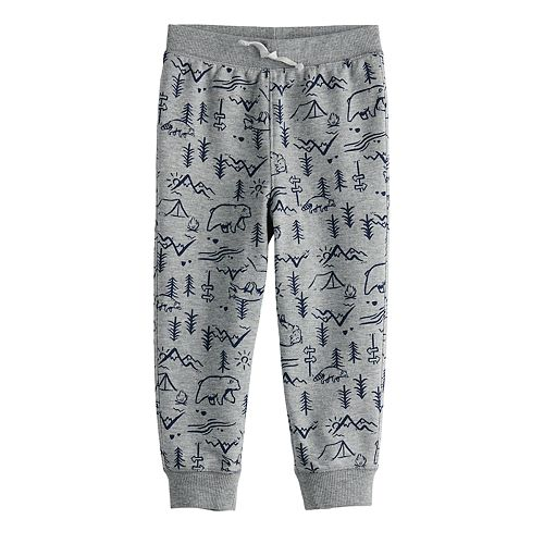 Toddler Boy Jumping Beans® Printed French Terry Joggers