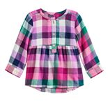 Toddler Girl Jumping Beans® Henley Babydoll Top