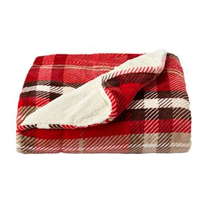 Portsmouth Home Oversized Plush Woven Throw Blanket
