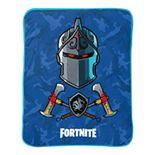 Fortnite Black Knight Blue Camo Throw