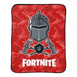 Fortnite Black Knight Red Camo Throw