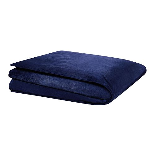 London Fog London Fog Weighted Blanket in Blue