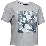 "Girls 7-16 Under Armour Printed ""Girls Never Quit"" Graphic Tee"