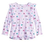 Toddler Girl Jumping Beans® Graphic Flutter Tee