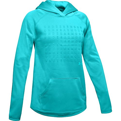 Girls' 7-16 Under Armour Armour Fleece® Branded Hoodie