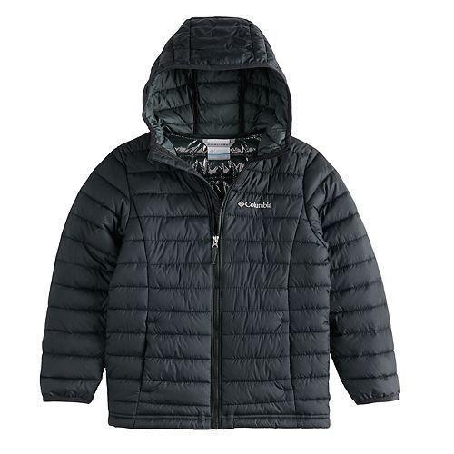 Boys 8-20 Columbia Powder Lite Hooded Jacket