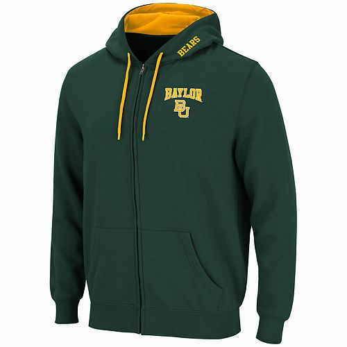 Men's Baylor Bears Full-Zip Fleece Hoodie
