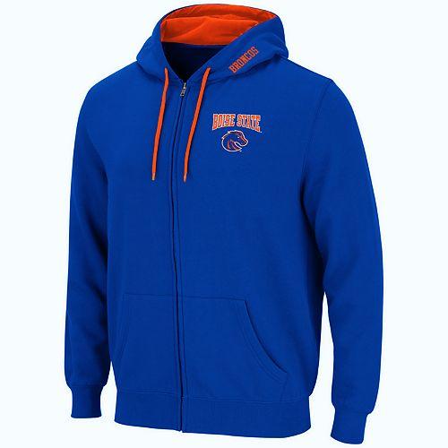 Men's Boise State Broncos Full-Zip Fleece Hoodie