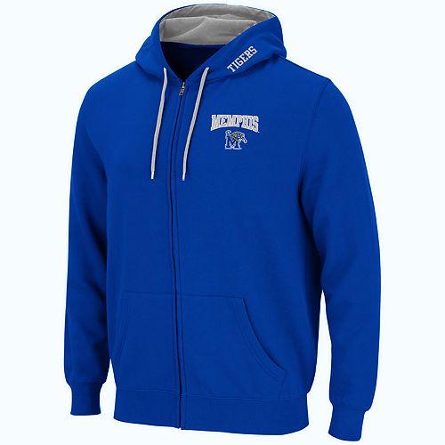 Men's Memphis Tigers Full-Zip Fleece Hoodie