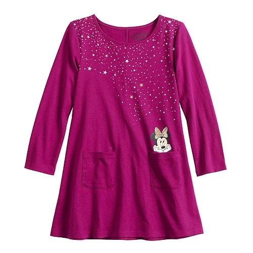 Disney's Minnie Mouse Toddler Girl Graphic Swing Dress by Jumping Beans®
