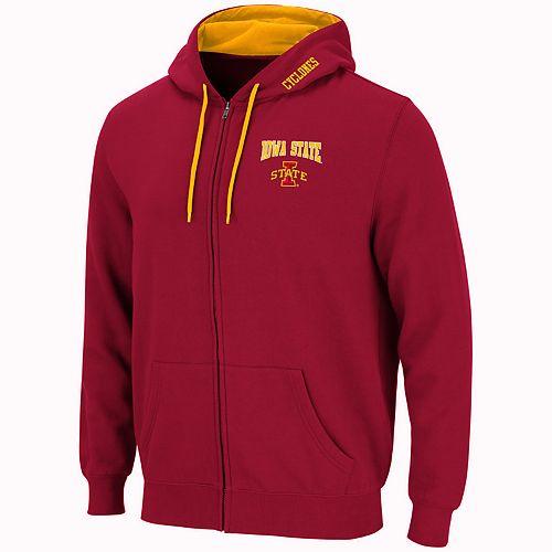 Men's Iowa State Cyclones Full-Zip Fleece Hoodie