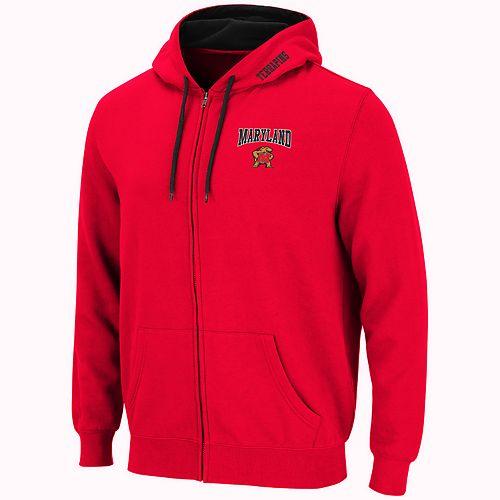 Men's Maryland Terrapins Full-Zip Fleece Hoodie