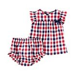 Baby Girl Carter's 2-Piece Plaid Top & Diaper Cover Set